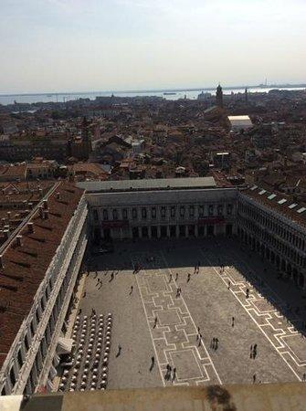 Campanile di San Marco: vue sur la place San Marco