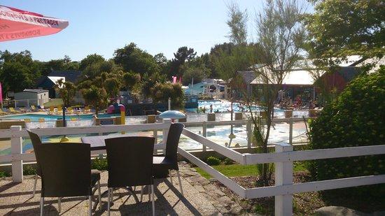 Siblu Villages - Domaine de Kerlann : vue de la piscine