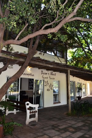 Dove's Nest Guest House: Reception Entrance