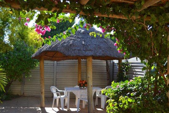 Dove's Nest Guest House: Patio
