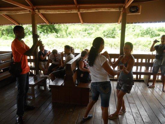 Altos de Chavon : Gita in battello sul fiume Chavon