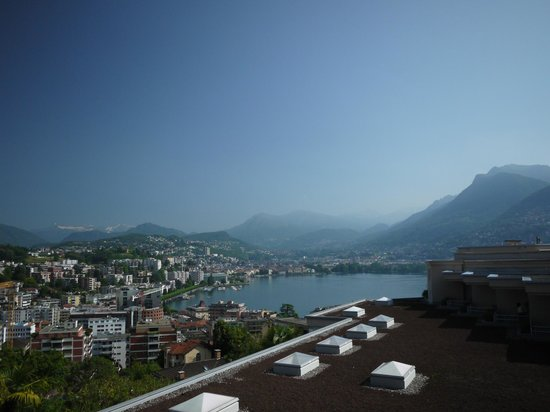 Suitenhotel Parco Paradiso: View from our room
