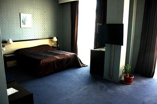 Veliko Tarnovo Hotel Premier: Our room - view towards bed