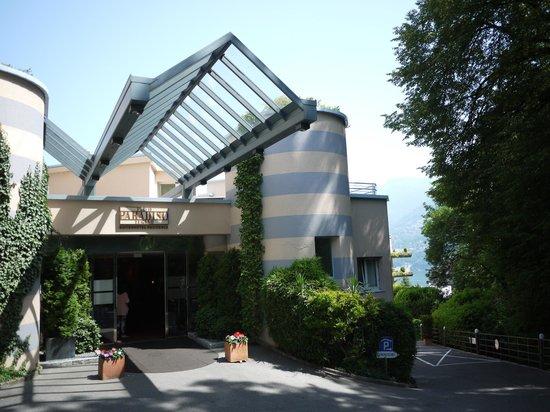 Suitenhotel Parco Paradiso: Hotel entrance