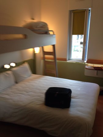 Hotel ibis budget Manchester Centre Pollard Street: Standard room