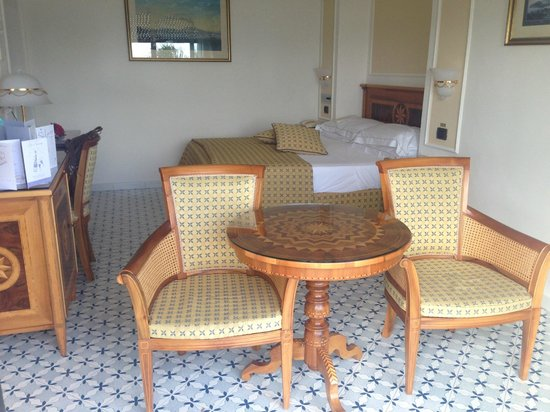 Grand Hotel Royal: Our Room