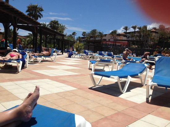 Occidental Jandia Mar: Loads of empty sunbeds every day