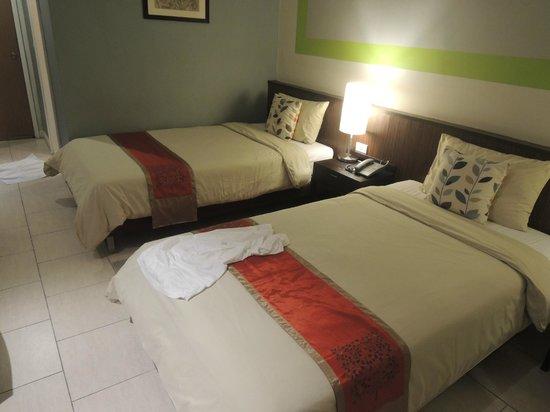 Hotel de Bangkok: beds