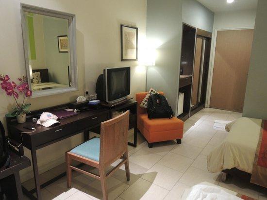 Hotel de Bangkok: sufficient space
