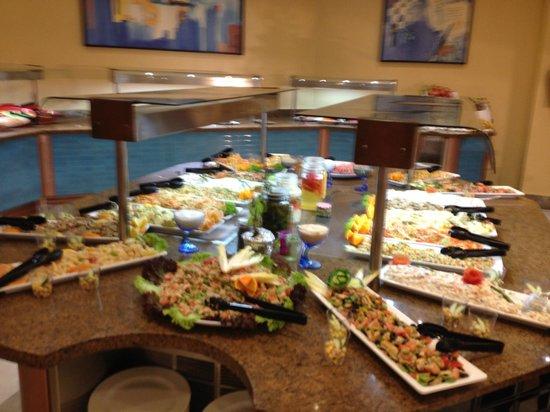 Occidental Jandía Mar: Main dining room - salad station
