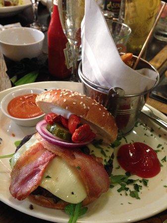 Coast to Coast: Lux Burger with sweet potato fries
