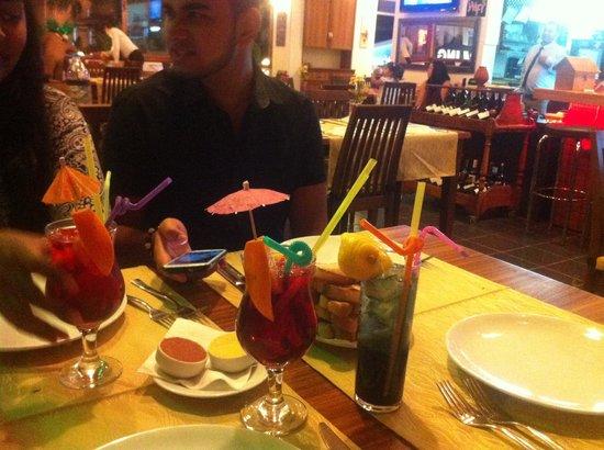 The White Man Restaurant: Drinks