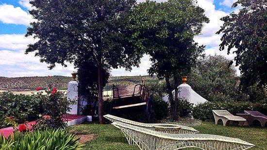 Hacienda El Santiscal: Todo ayuda al relax.