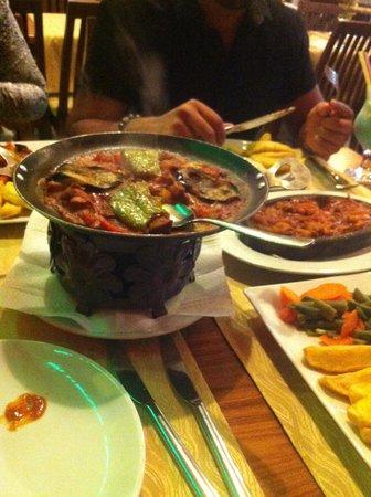 The White Man Restaurant: Food