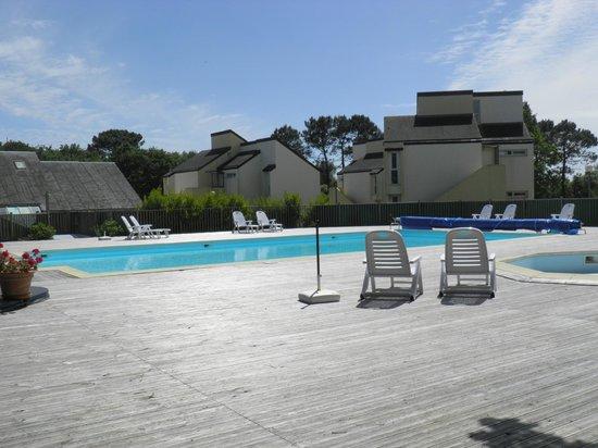 Hôtel Kerloc'h Gwen : piscine