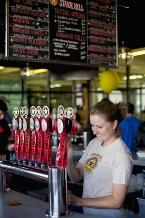Starr Hill Brewery: Starr Hill's friendly and knowledgable staff is here to serve you.