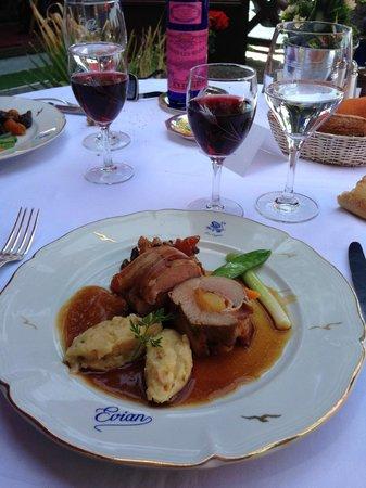 Hôtel Les Cygnes  : Le MEILLEUR : Le filet mignon