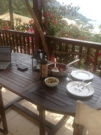 Kallisto Resort: на веранде удобно