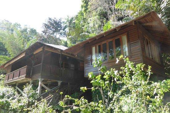Bunga Raya Island Resort & Spa : Deluxe Room Exterior