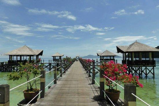 Bunga Raya Island Resort & Spa: Jetty