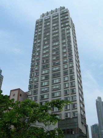 Dorsett Mongkok Hong Kong: Le building du Dorsett