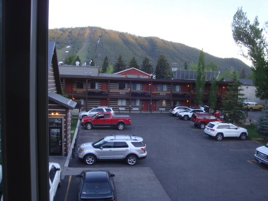The Lexington at Jackson Hole: View from our room