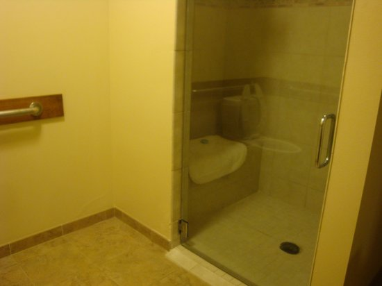 The Lexington at Jackson Hole Hotel & Suites: shower