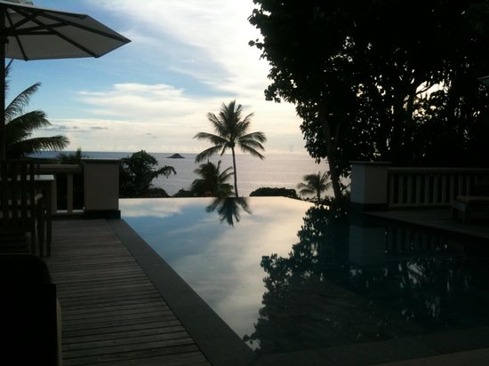 Trisara Phuket: Photo from Villa 202 via iPhone 3 --looked better in real life