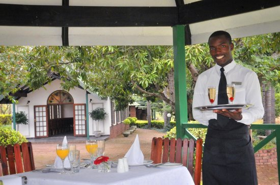 Tzaneen Convention Centre: Romantic dining