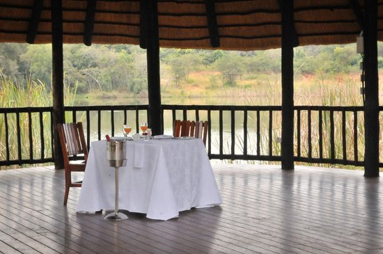Tzaneen Convention Centre: Dining with a view