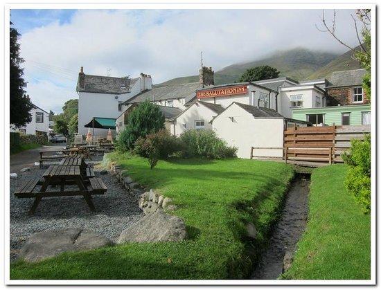 Salutation Inn : Our Beautiful Garden & BBQ area
