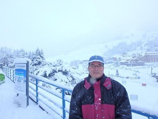 NH Bariloche Edelweiss: Linda paisagem