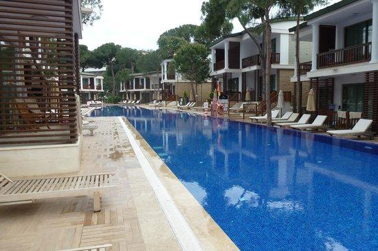 Voyage Belek Golf & Spa: Veel zwembaden bij dit hotel