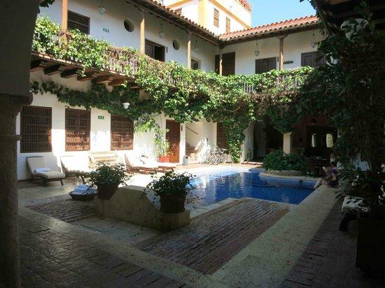 Hotel Casa del Arzobispado : Patio