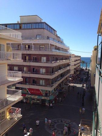 Estudios Benidorm : Sea view from room 302 (block 2)