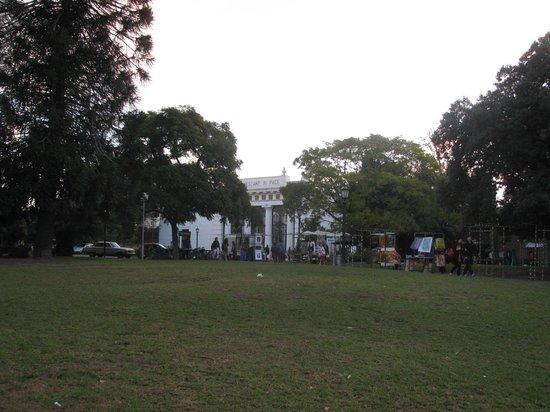 Recoleta: Praça França