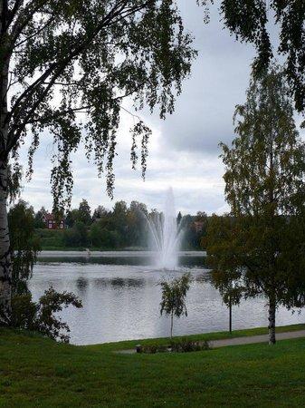 Skelleftea, Sweden: на набережной