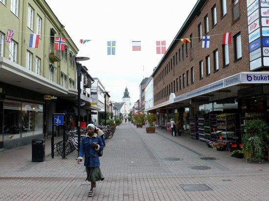 Skelleftea, Sweden: торговая улица