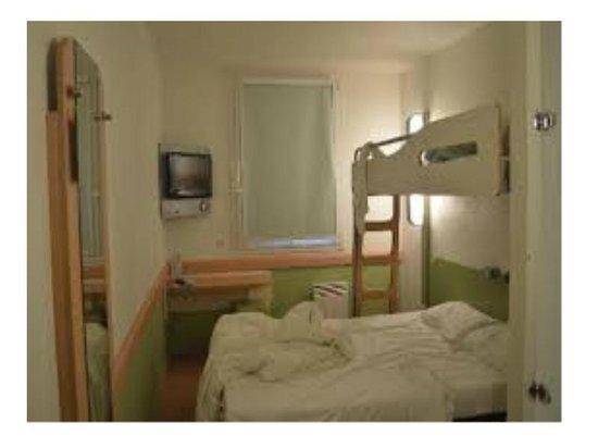 Ibis Budget Roissy CDG Paris Nord 2 : chambre