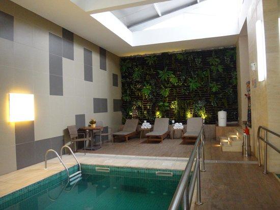 Novotel Porto Alegre Aeroporto : A área da piscina é agradável