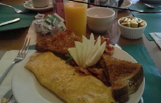 Mendon Mountainview Lodge : Breakfast