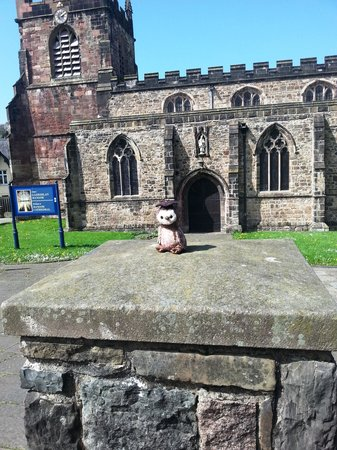 Bangor Cathedral: A very closed cathedral