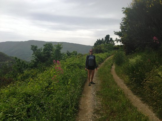 Farmhouse B&B Castagnola 64: walk/hike from the Farmhouse - amazing views