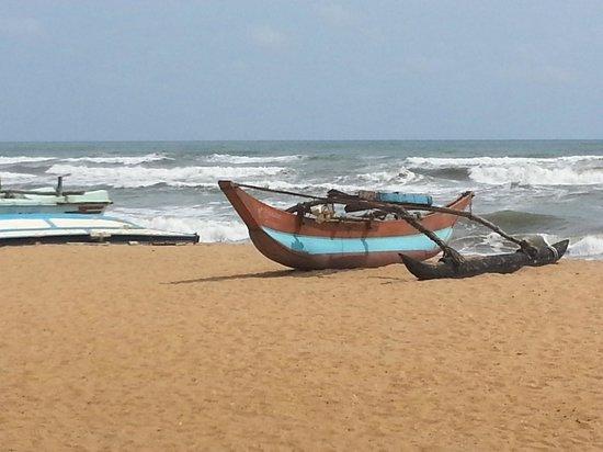 Life Ayurveda Resort: Strand direkt vor dem Resort