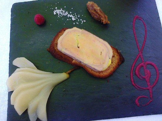 Absolue Renaissance : Tartine de foie gras aux poires