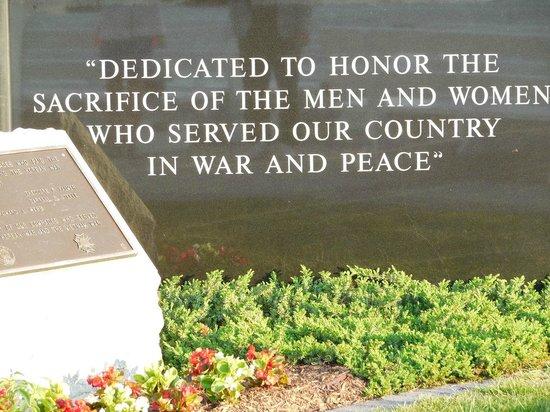 Rehoboth Beach: Veteran's Memorial at Rehoboth