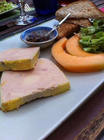Le Pha : foie gras mi-cuit a la carte