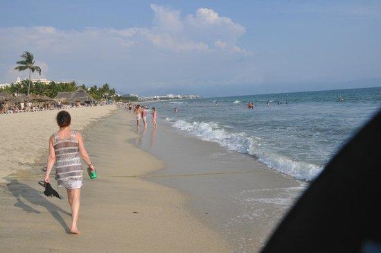 Hotel Riu Vallarta: nice beach and swimmable ocean