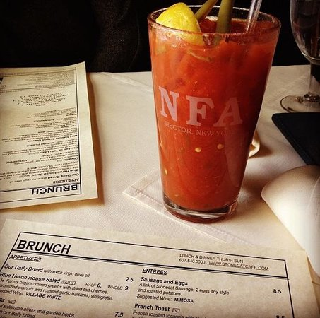 Stonecat Cafe: Bloody Mary