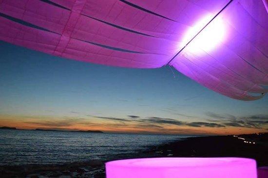 Mint Lounge : Sunset from Mint Bar ibiza